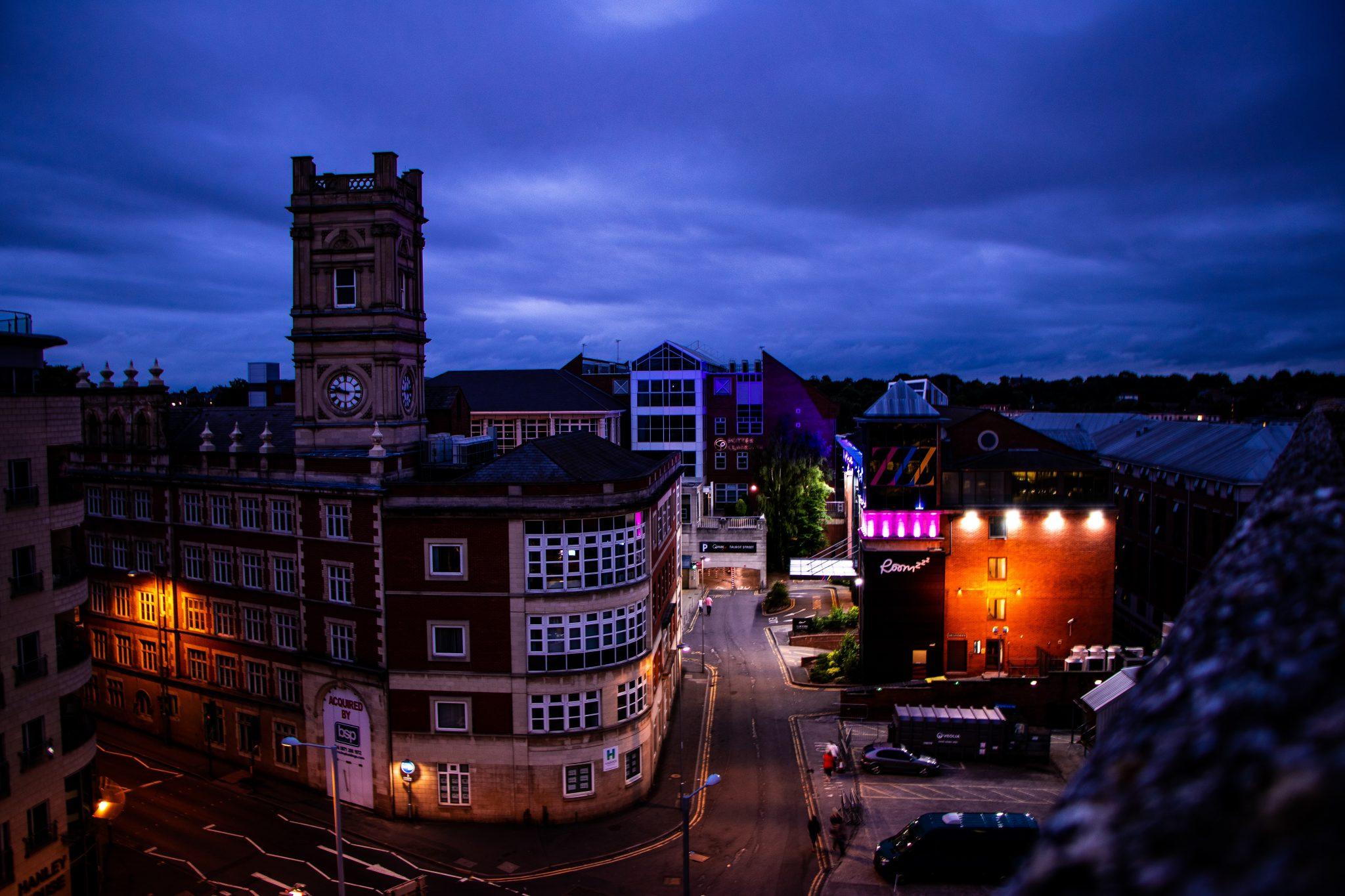 Nottingham CCTV Row Image