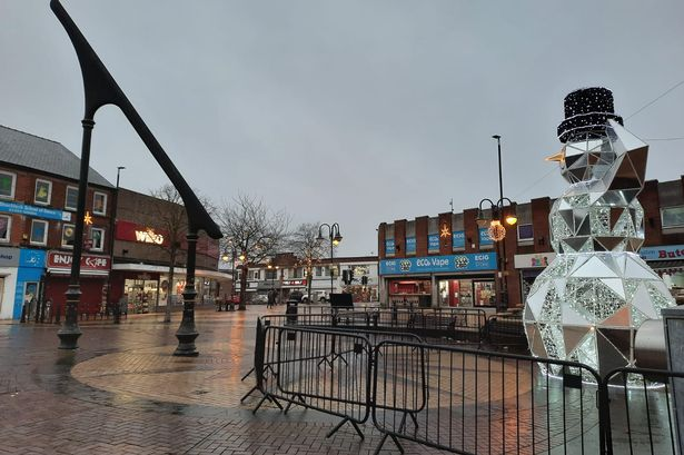 Sutton In Ashfield CCTV Row Image